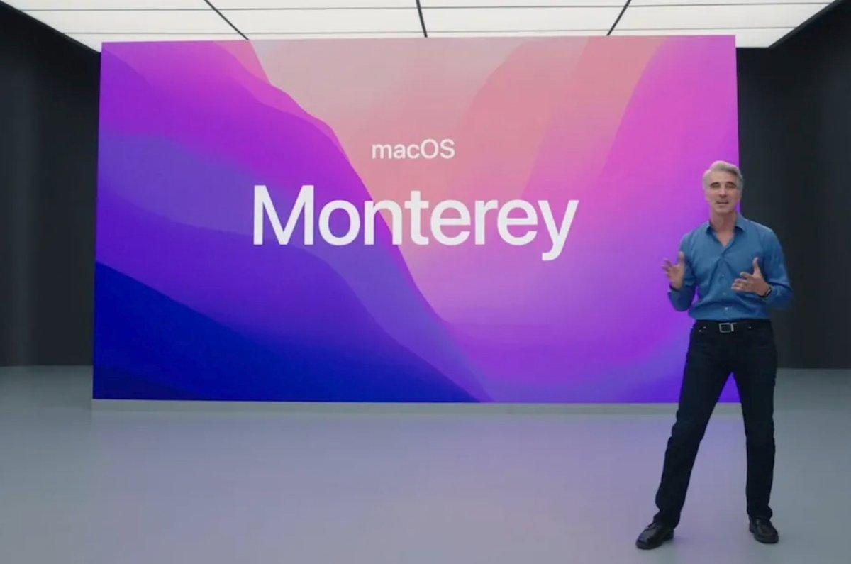 macOS Monterey © © Apple