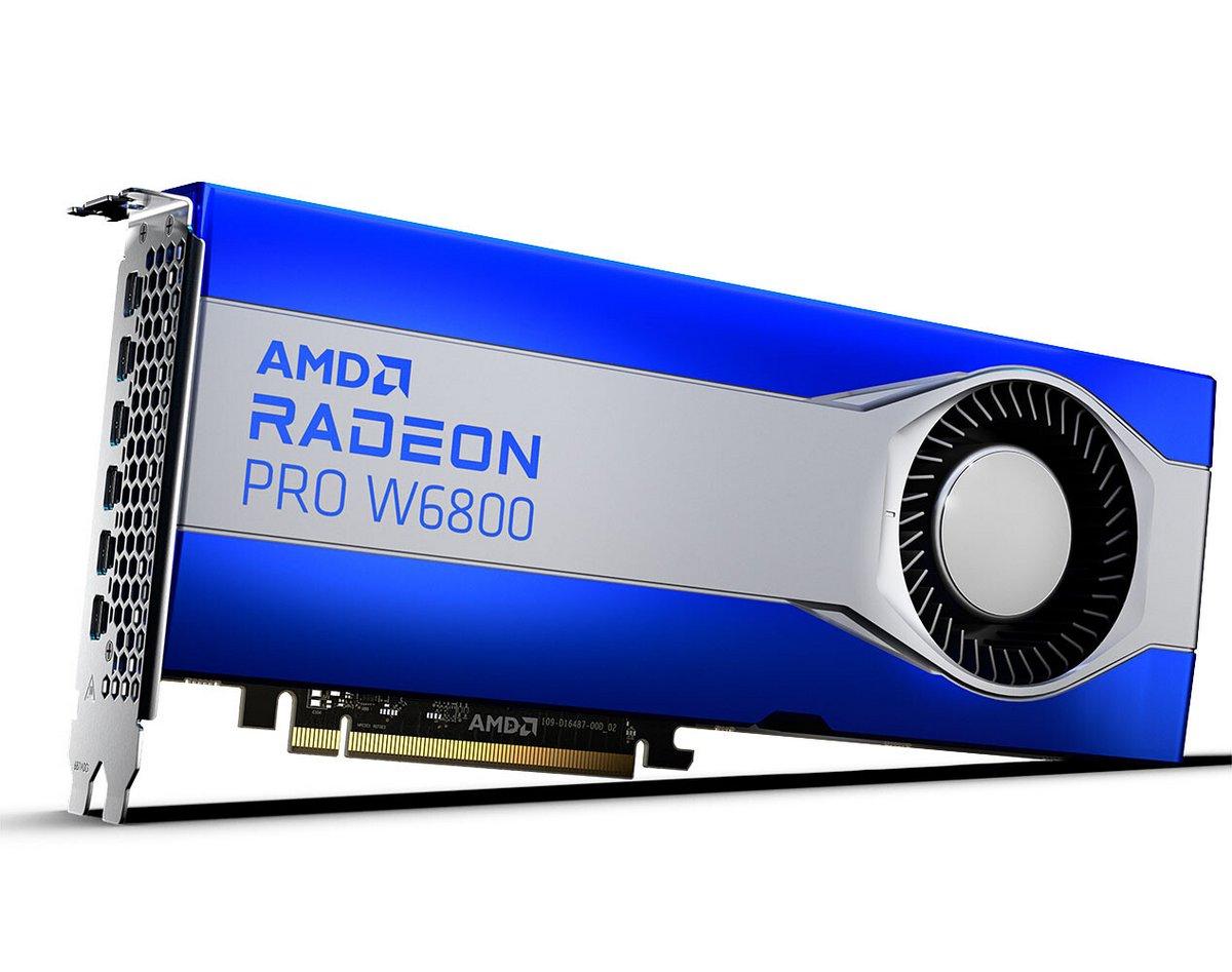 AMD Radeon Pro W6800 © AMD
