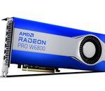 AMD dévoile la gamme Radeon Pro série W6000 à base de RDNA2