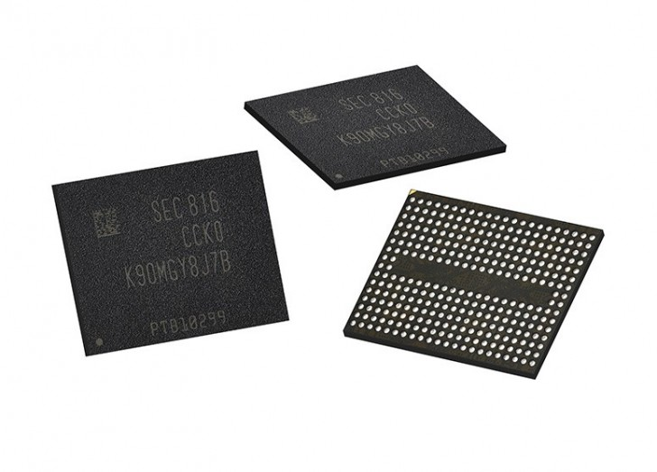 Samsung V-NAND © Samsung