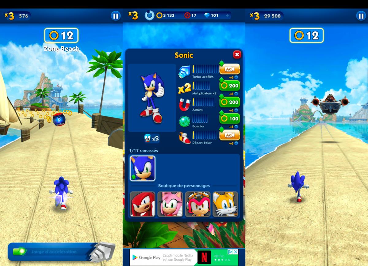 télécharger Sonic Dash