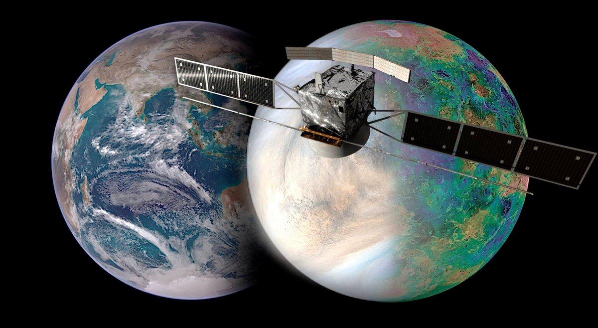 Venus EnVision ESA Mission © NASA / JAXA / ISAS / DARTS / Damia Bouic / VR2Planets