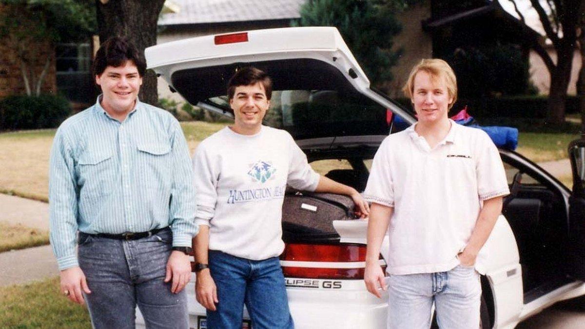 L'équipe 3D Realms en novembre 1991 © 3D Realms