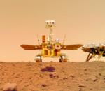 Le robot chinois Zhurong nous fait parvenir des photos depuis la planète Mars