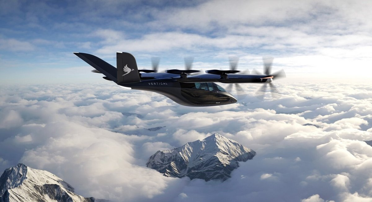Vertical Aerospace VA-X4 © Vertical Aerospace