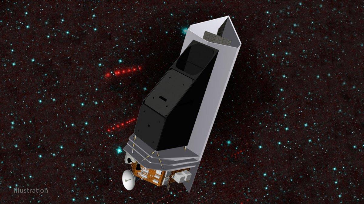 NEO Surveyor NASA illustration © NASA/JPL-Caltech