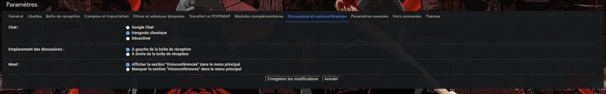 Gmail © Capture d'écran