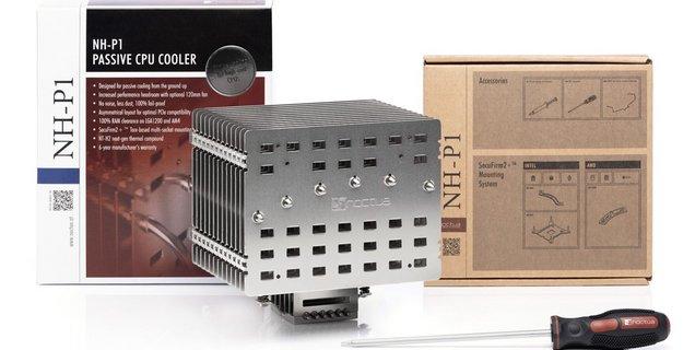 Noctua lance le NH-P1 : une solution passive pour refroidir jusqu'au Core i9-11900K