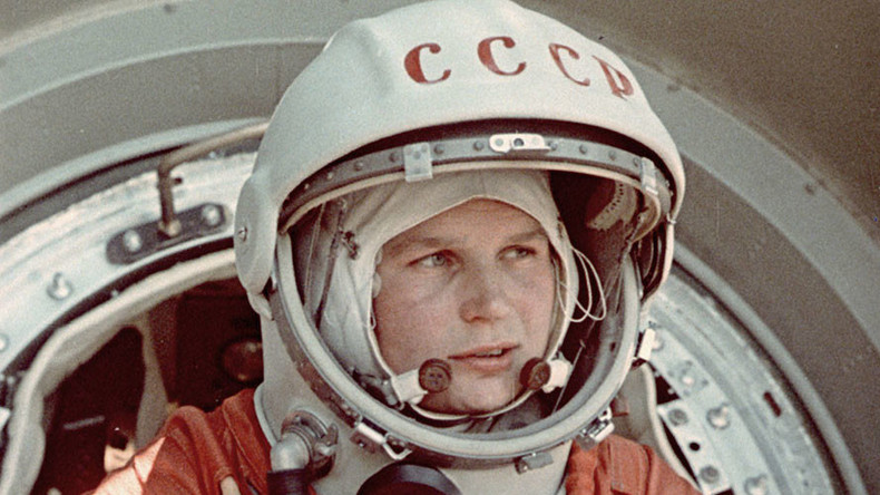 Valentina Tereshkova astronaute © © NASA