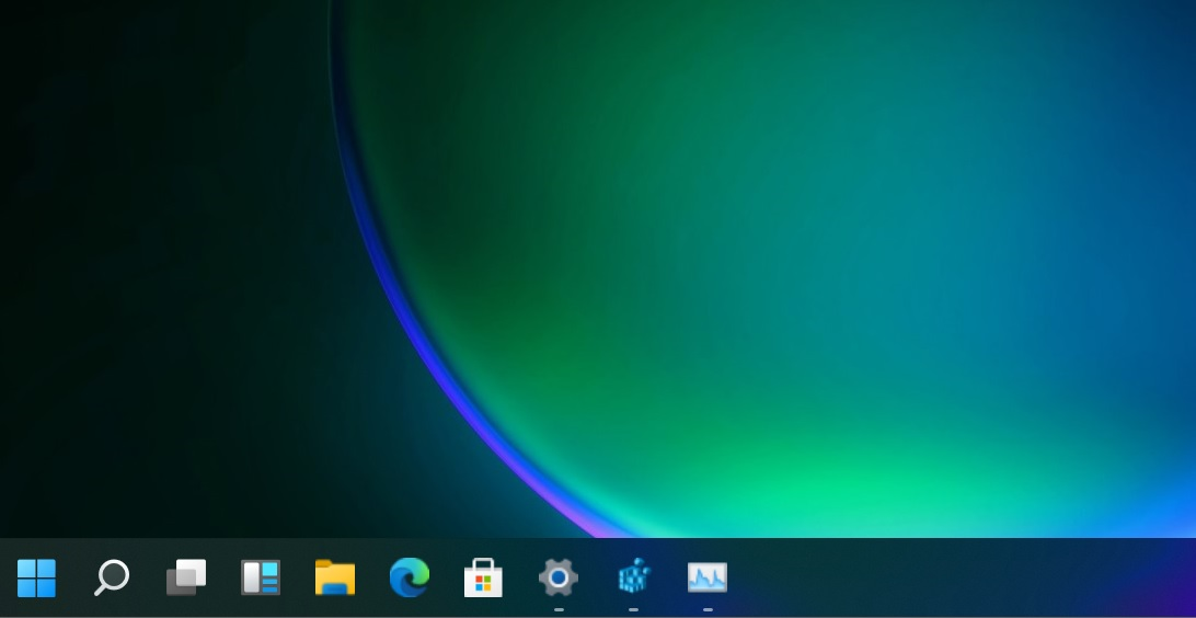 Windows 11 - Grande barre des tâches © Windows Latest