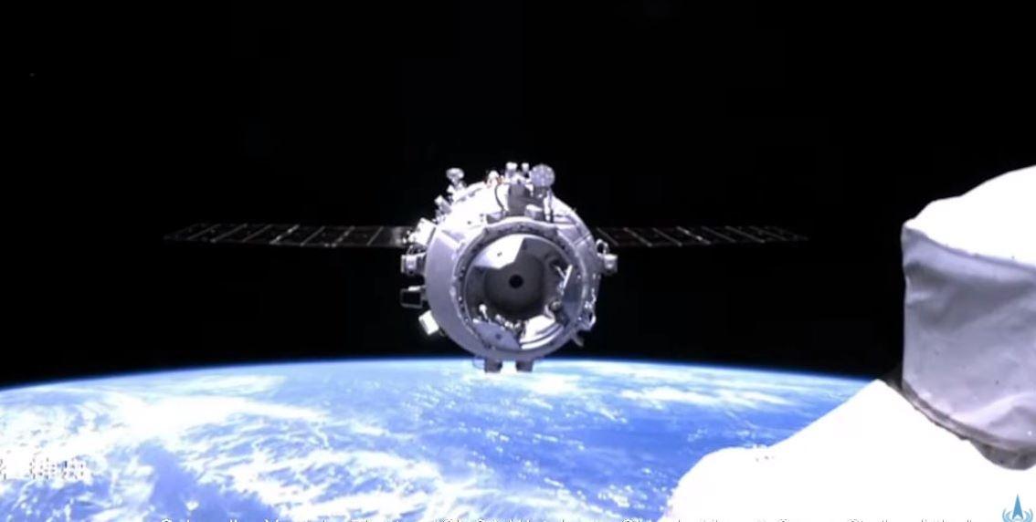 Shenzhou 12 amarrage SSC Tianhe © BACC/CNSA/CCTV