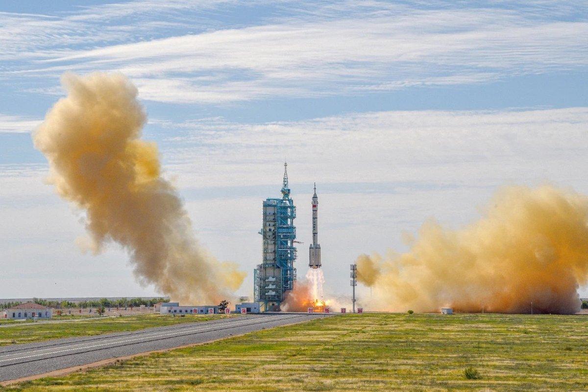 Shenzhou 12 décollage CZ-2F © CNSA/CMSEO