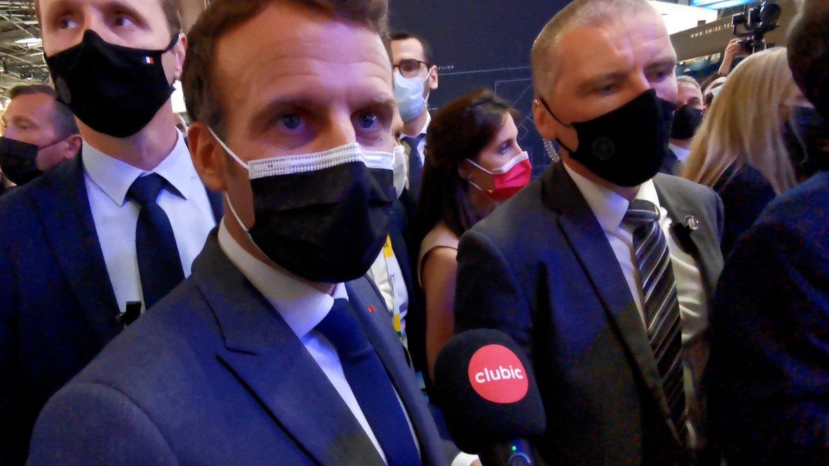 Emmanuel Macron © Alexandre Boero pour Clubic