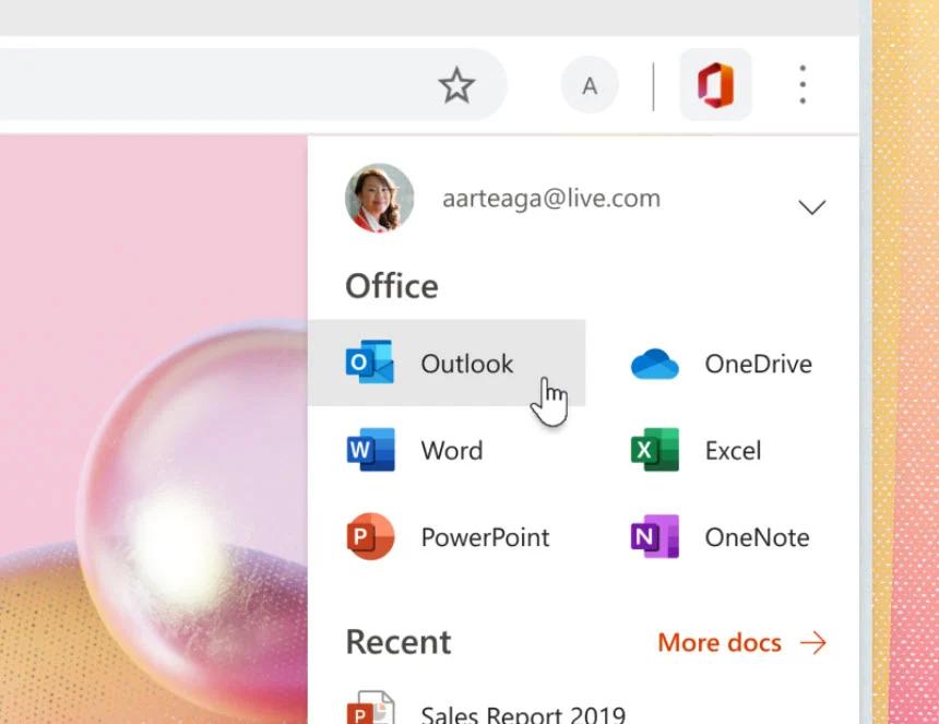 Office Edge Chrome