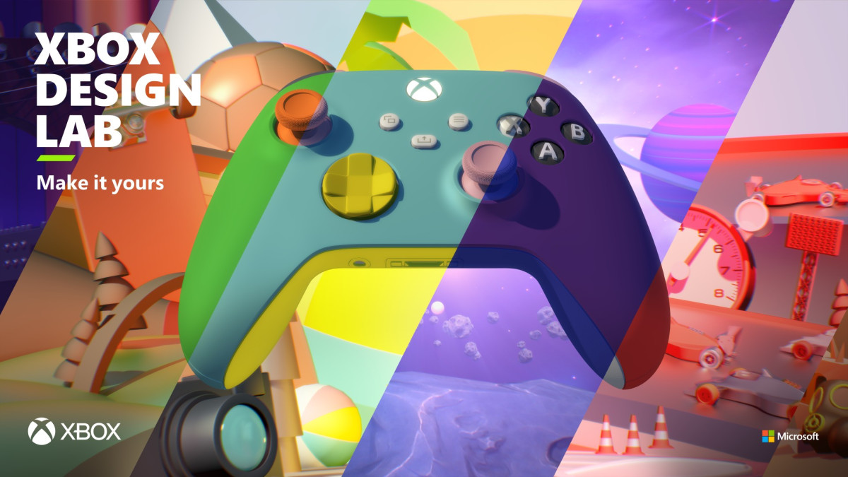 Xbox Design Lab © Microsoft