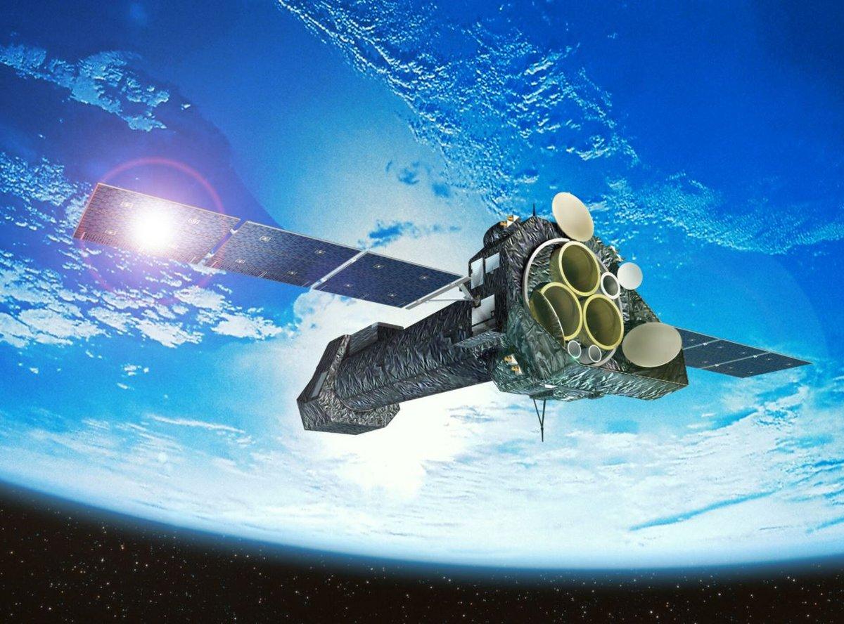 XMM Newton télescope ESA © ESA - D. Ducros