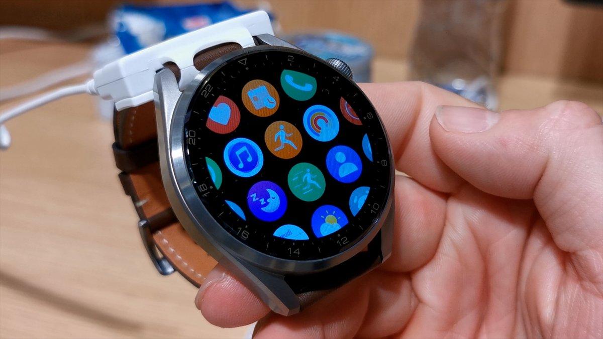 Huawei Watch 3 © Alexandre Boero pour Clubic