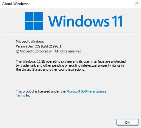 Windows 11 SE © © Microsoft