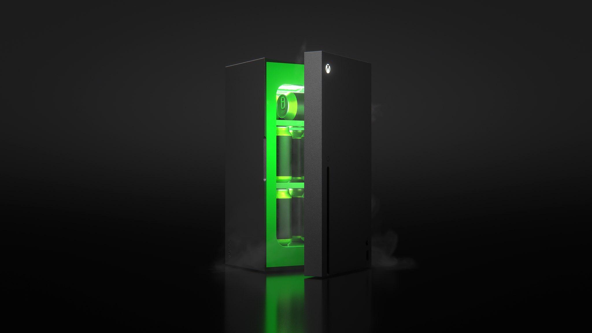 Le mini frigo Xbox ne sera pas vendu qu'aux US
