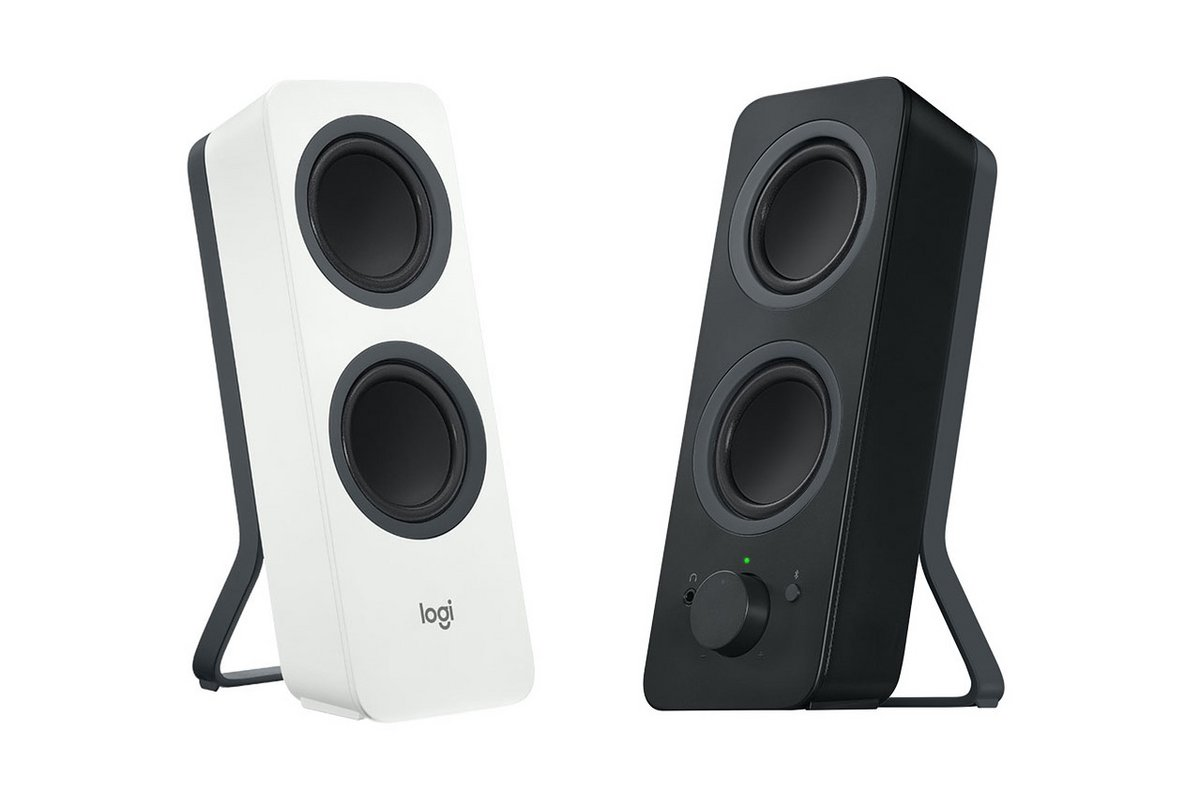 Logitech Z207 coloris blanc noir