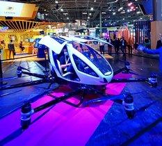EHang dévoile son impressionnant taxi drone (Vidéo)