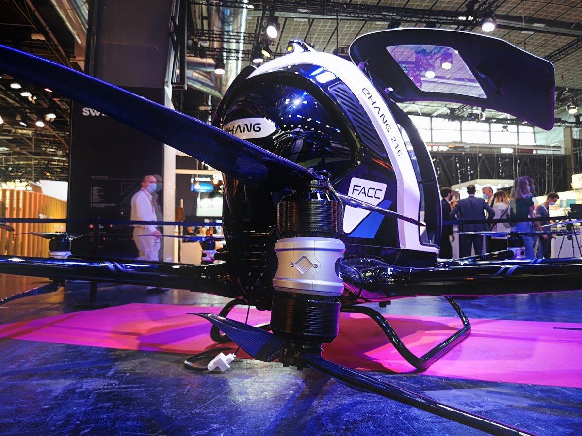 EHang 216AAV hélice © Alexandre Boero pour Clubic