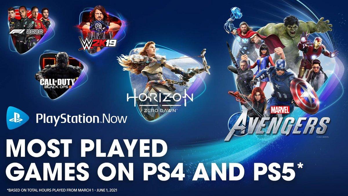 PS Now Jeux sur PC Printemps © Sony