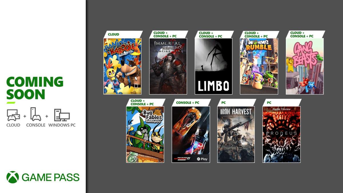 Xbox Game Pass jeux fin juin © Microsoft / Xbox