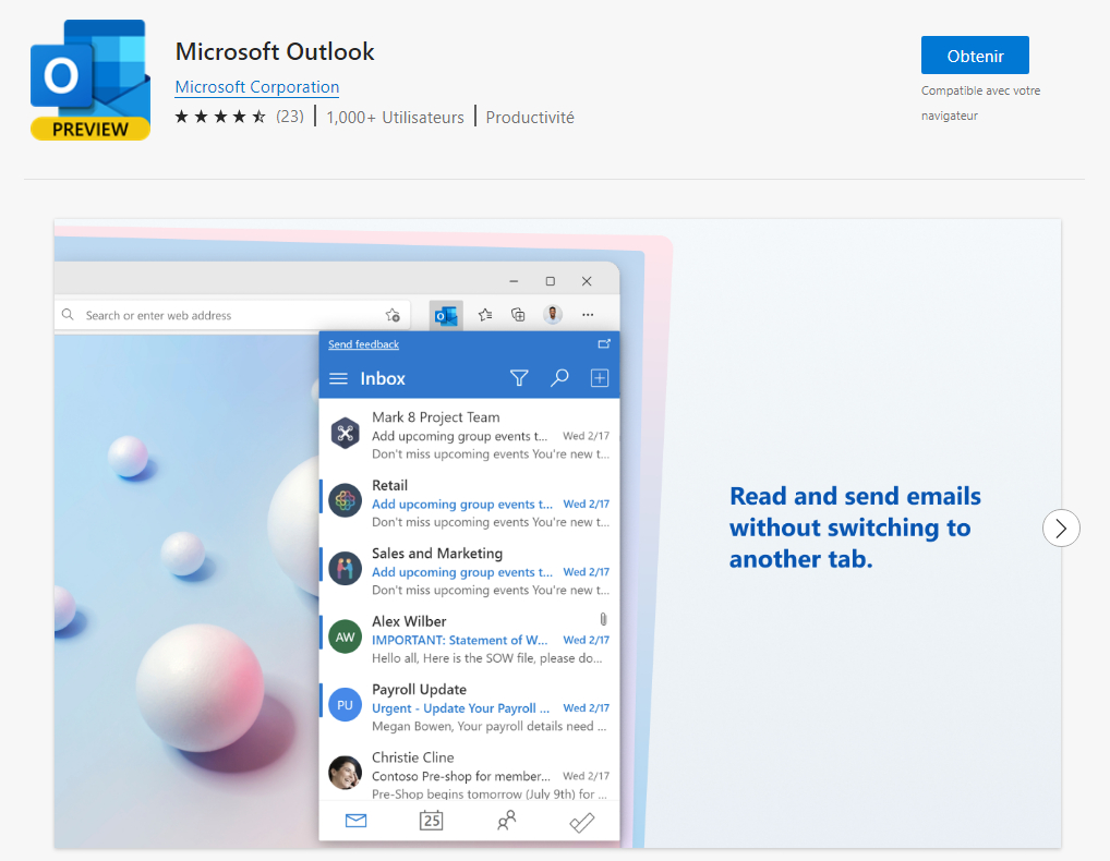 Outlook Edge