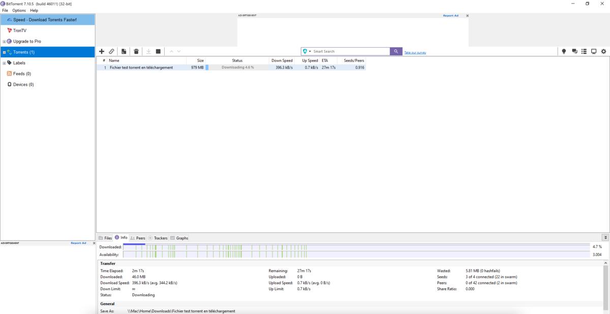 BitTorrent Classic 1