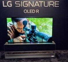 LG OLED R1 : Que vaut la télé enroulable à 100 000 euros de LG ? Nos premières impressions