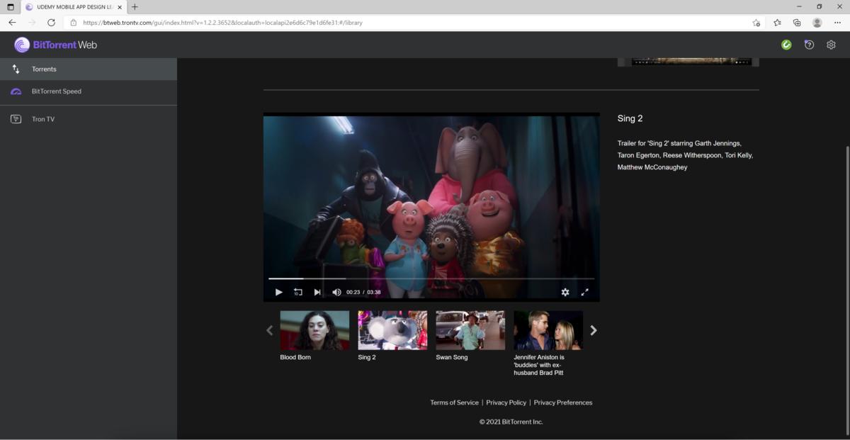 BitTorrent Web 3