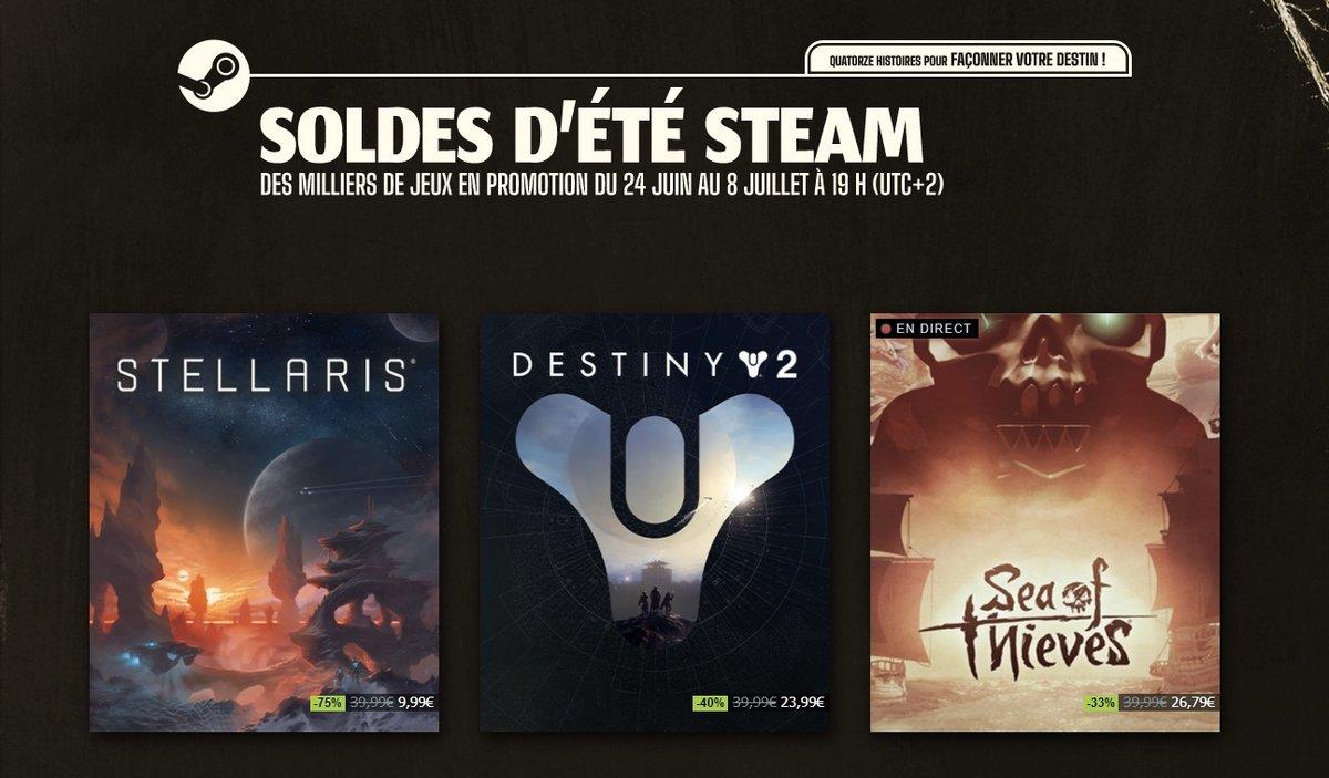 Steam soldes © Capture d'écran