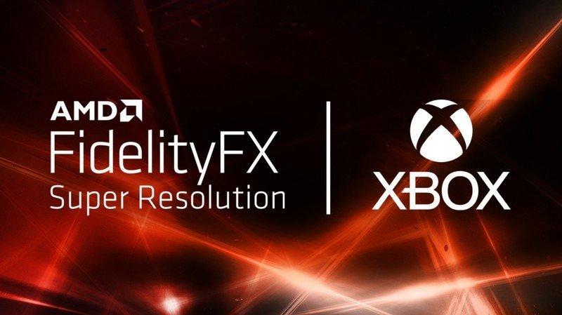 Xbox Series AMD FSR © ©AMD