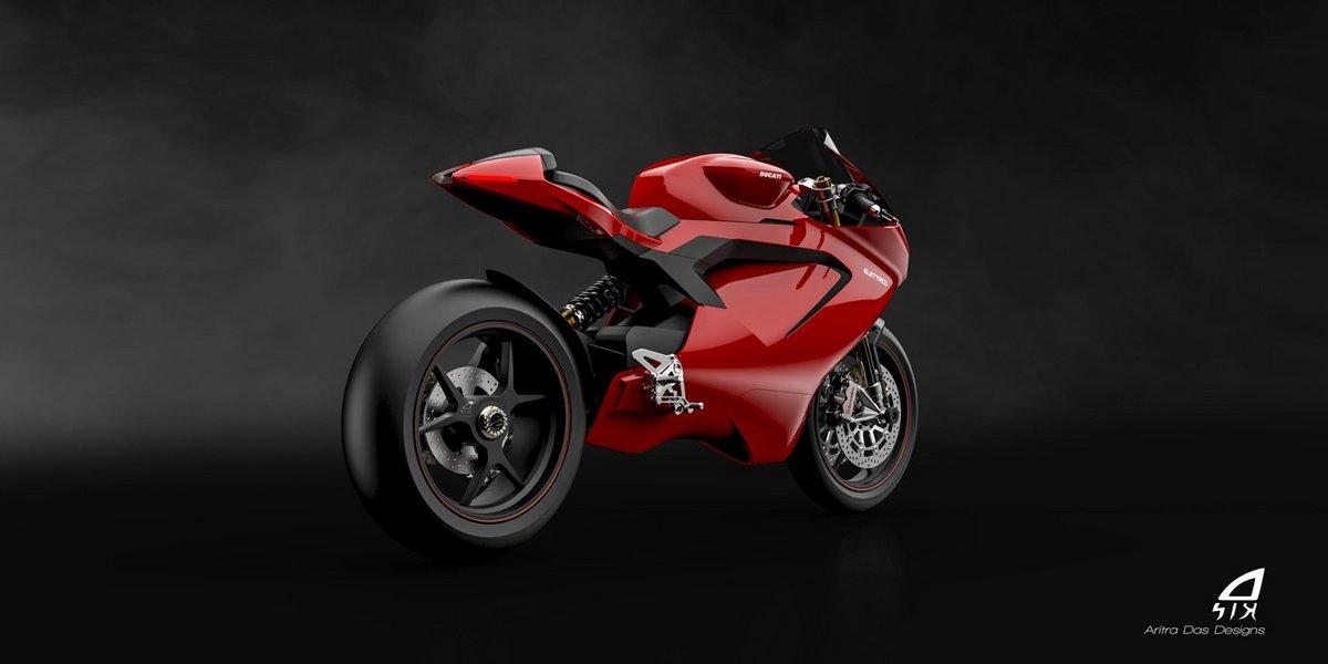 Ducati moto électrique © © Aritra Das