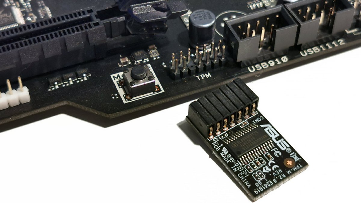 Asus TPM Module © Asus