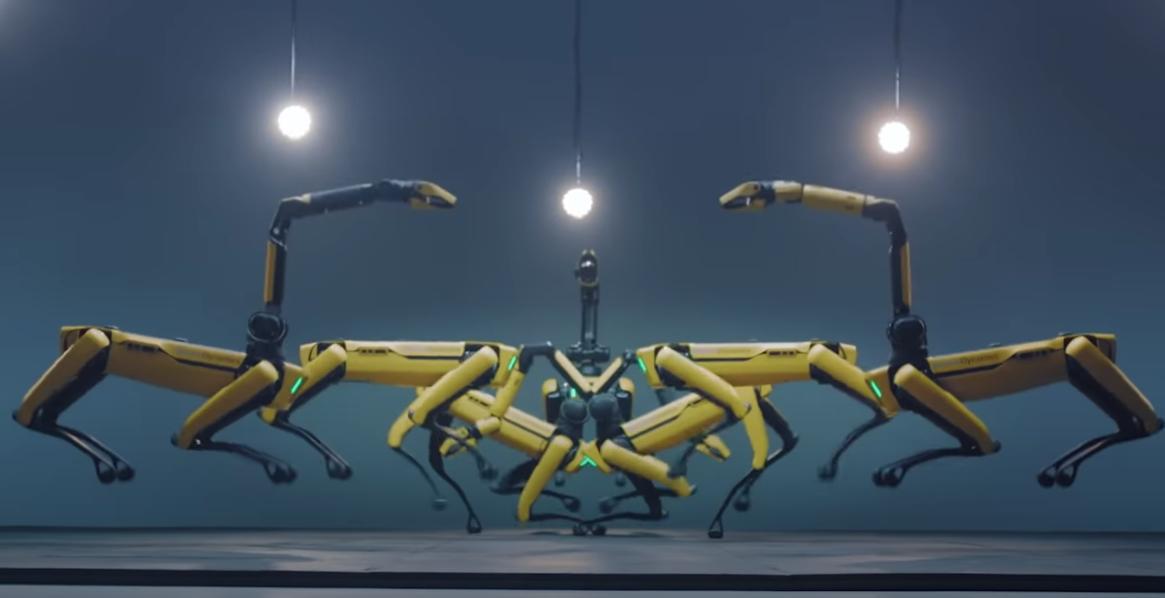 Spot et ses compères sautent en même temps