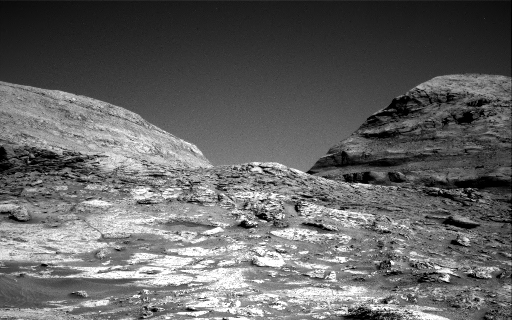 Curiosity vallée canyon Navarro © NASA/JPL-Caltech
