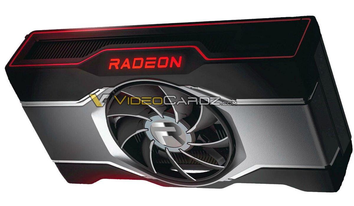 Rendu Radeon RX 6600 XT © Videocardz