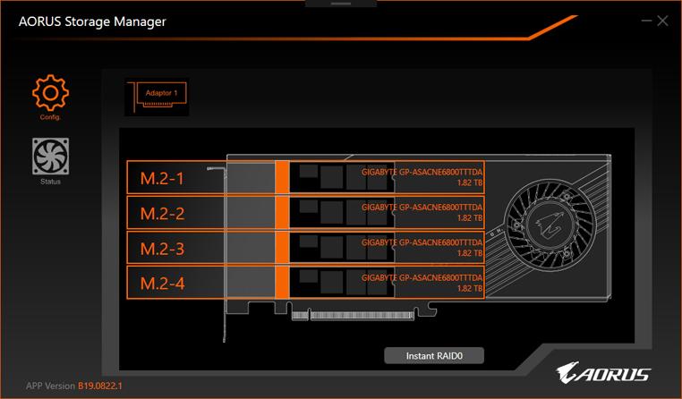 Aorus Xtreme 32 TB Gen 4 AIC SSD © WCCFTech
