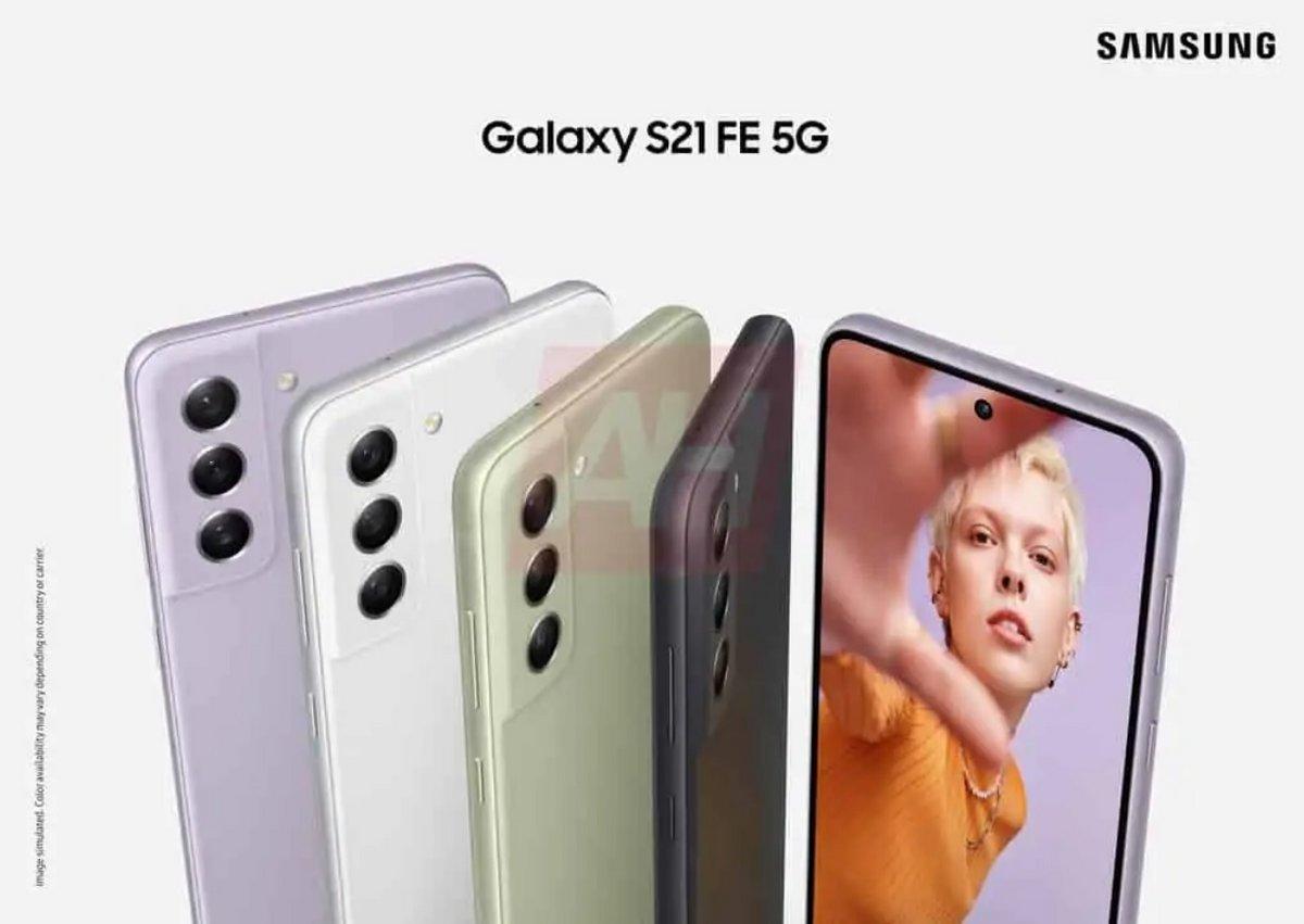 Samsung Galaxy S21 FE © Android Headlines