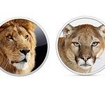 Apple rend les installations de Mac OS X Lion (2011) and Mountain Lion (2012) gratuites ; hum, merci !