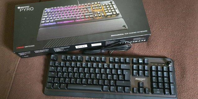 Test Roccat Pyro : un clavier mécanique bien conçu et sans se ruiner