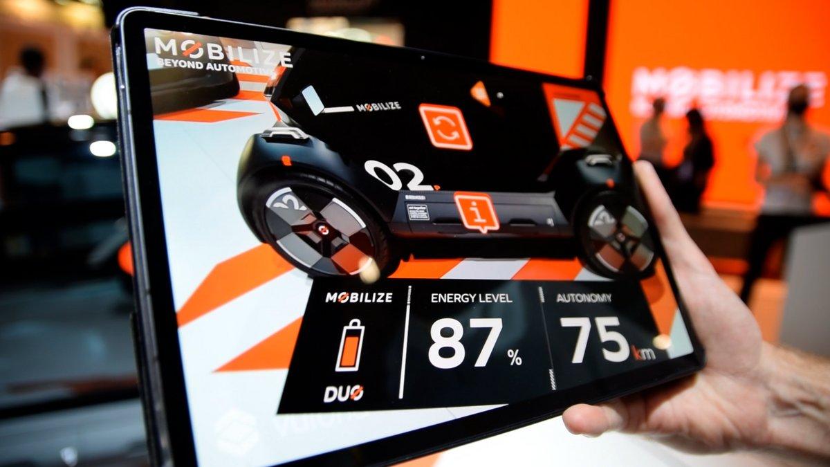 Mobilize niveau batterie © Alexandre Boero pour Clubic