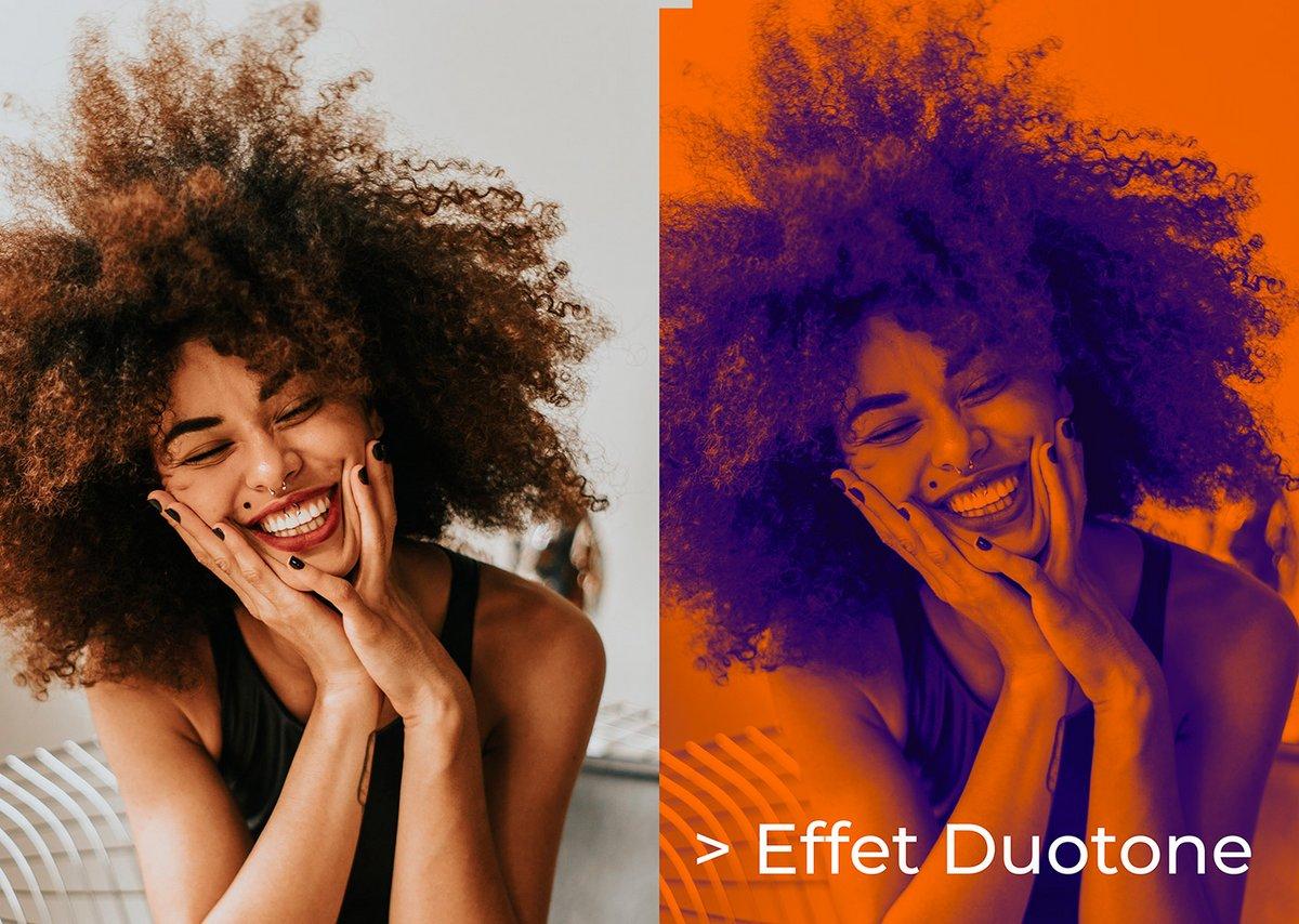 Effet Duotone © Romain Duclos