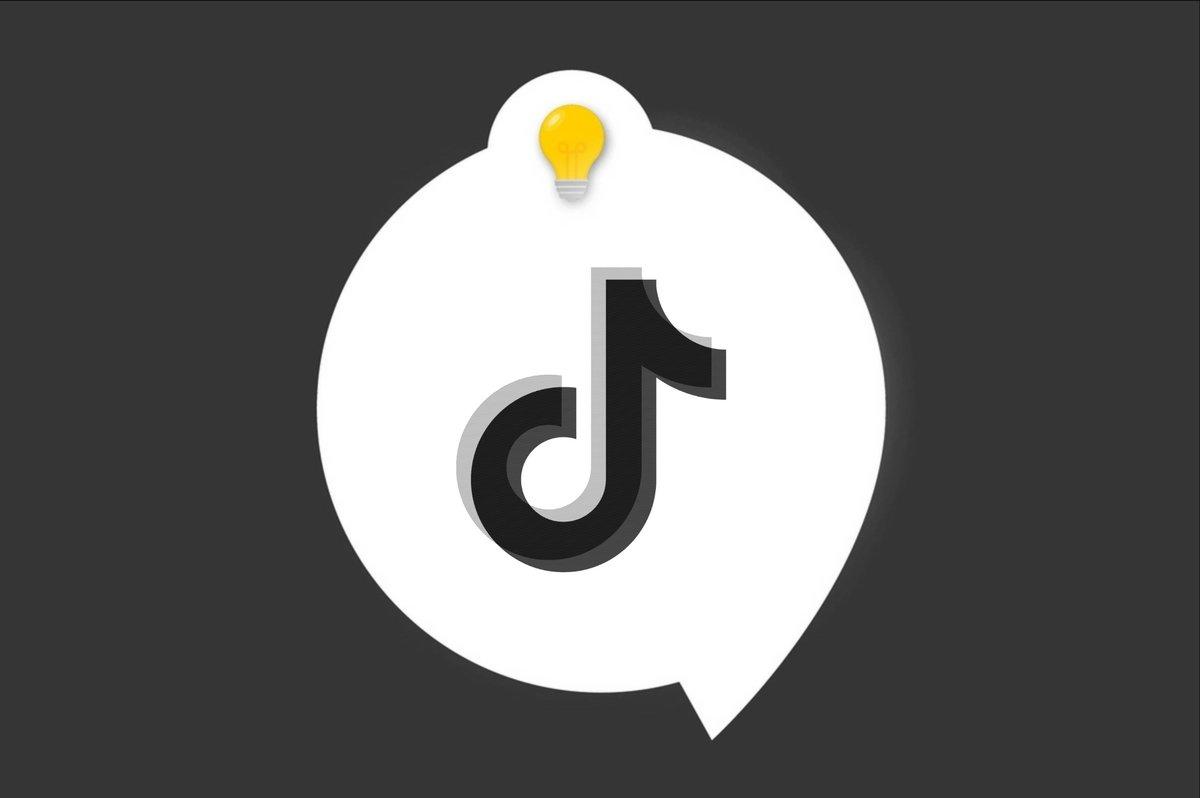 Tiktok tuto astuce logo icon