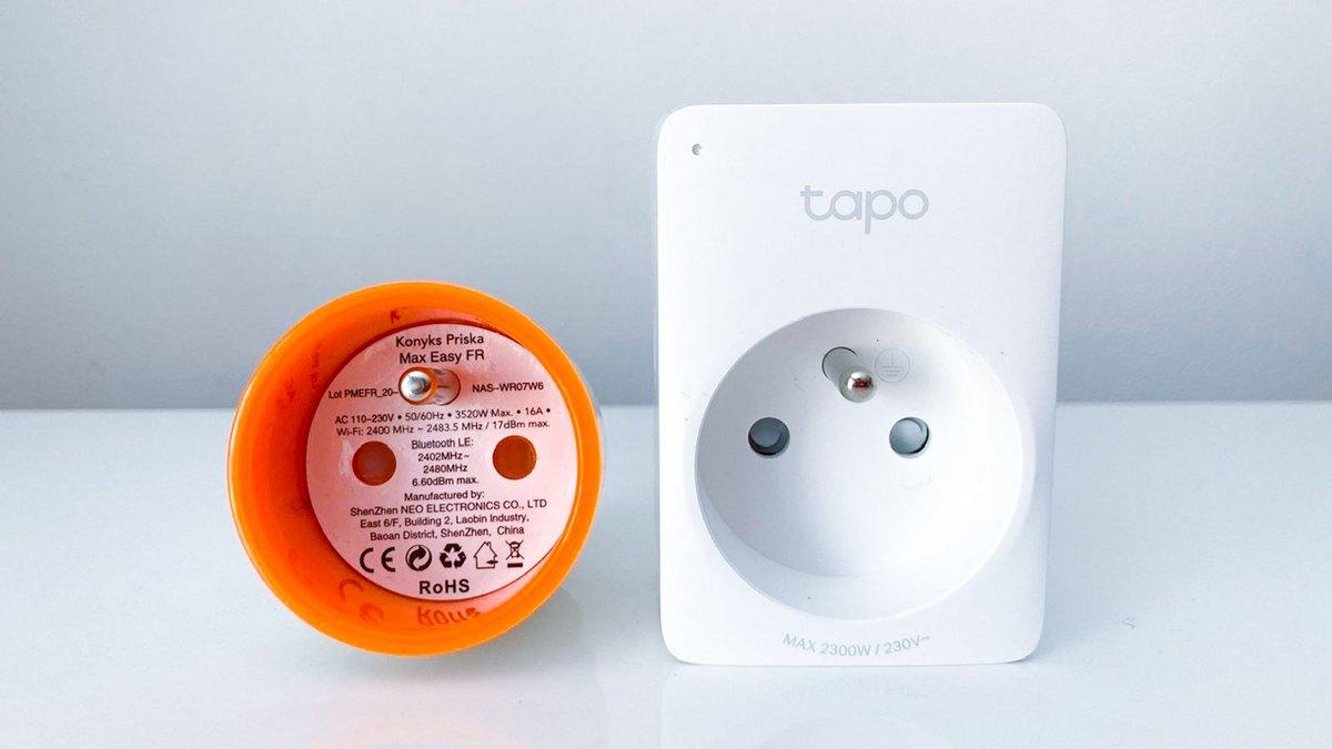 Test TP-Link Tapo P100 © Johan Gautreau