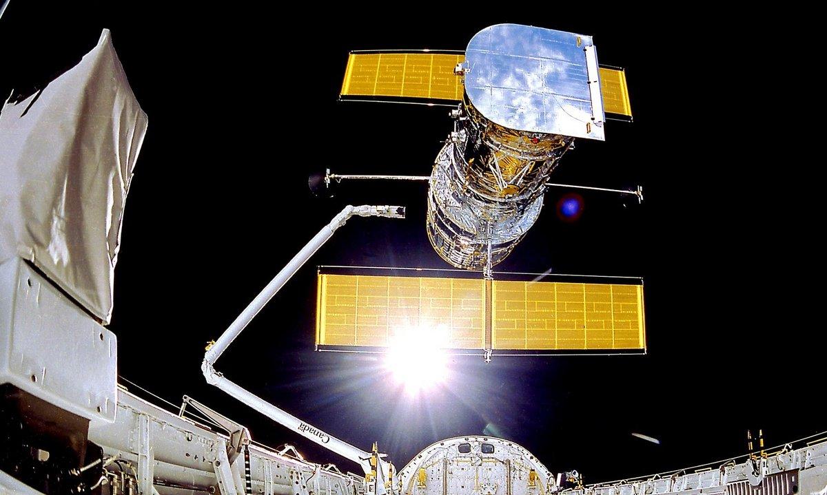 Hubble réparation navette © NASA