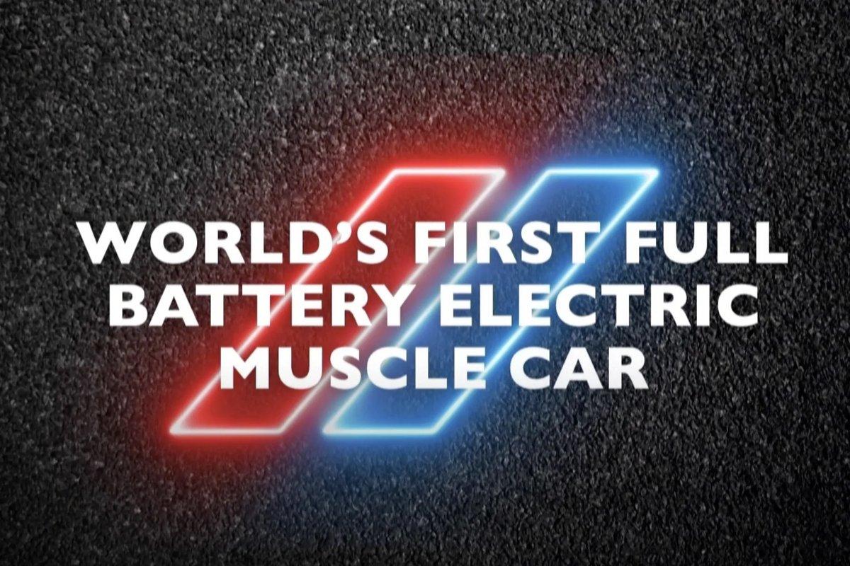 Dodge EV Muscle Car © Dodge
