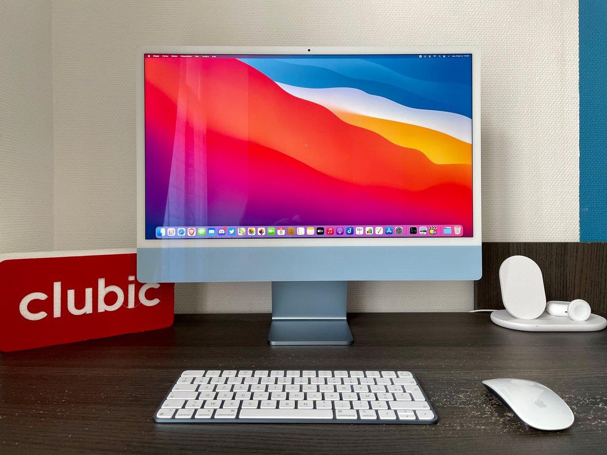 Test iMac 2021 © Mathieu Grumiaux pour Clubic